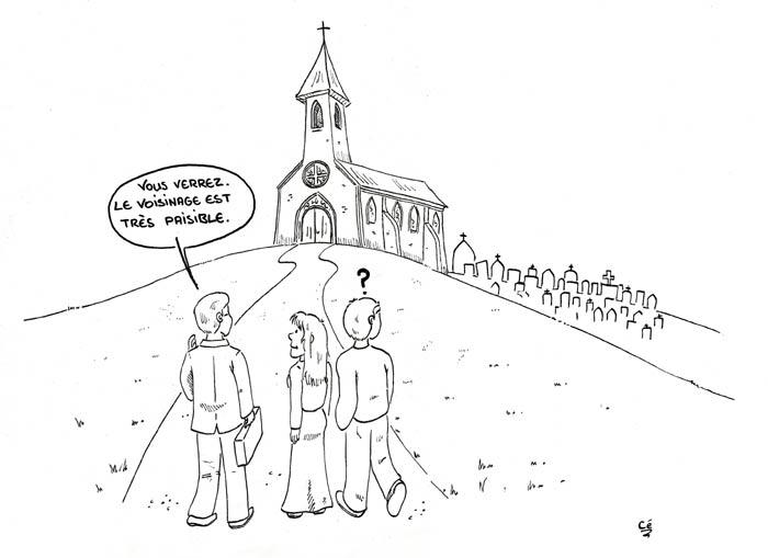Dailynordles dessins de c dailynord - Dessin eglise ...