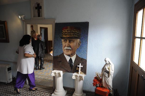 FRANCE. Cauchy-à-la-tour. Maison natale du Maréchal Pétain transformée en musée.