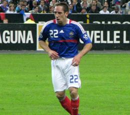 Les Bleus nordistes de l'Euro: Franck Ribéry, le Ch'ti qui savait gérer ses millions