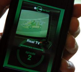 Real TV, le bouquin livré sur Iphone