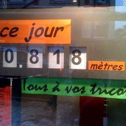 Echarpe la plus longue de la planète: un record du monde pour Fourmies ?