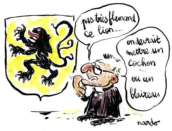 Pétain et identité flamande : sacré week-end de Pâques !