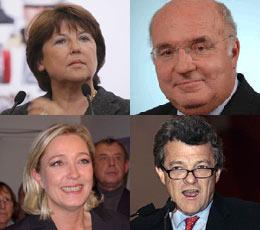 Présidentielle 2012 : la région, vivier de candidats