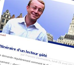 Blogueur du Nord : François Desmazière, l'élu qui aimait les livres