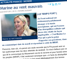 Front National / La Voix du Nord : le grand amour continue