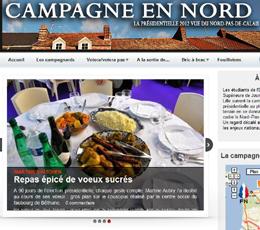 Campagne en Nord : (encore) la Présidentielle… mais vue de la région