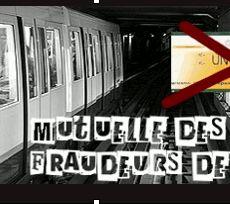 Une mutuelle pour frauder le métro