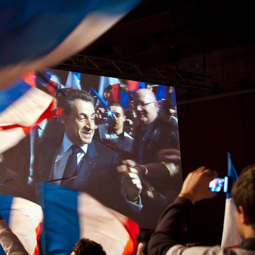 Nicolas Sarkozy à Lille : retour en images sur le meeting