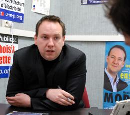 """Les interviews législatives : Hervé-Marie Morelle (UMP), """"Non, je ne suis pas kamikaze !"""""""