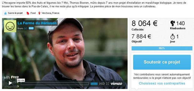 8 000 euros récoltés en deux mois via internet : la belle moisson participative d'un agriculteur du Pas-de-Calais