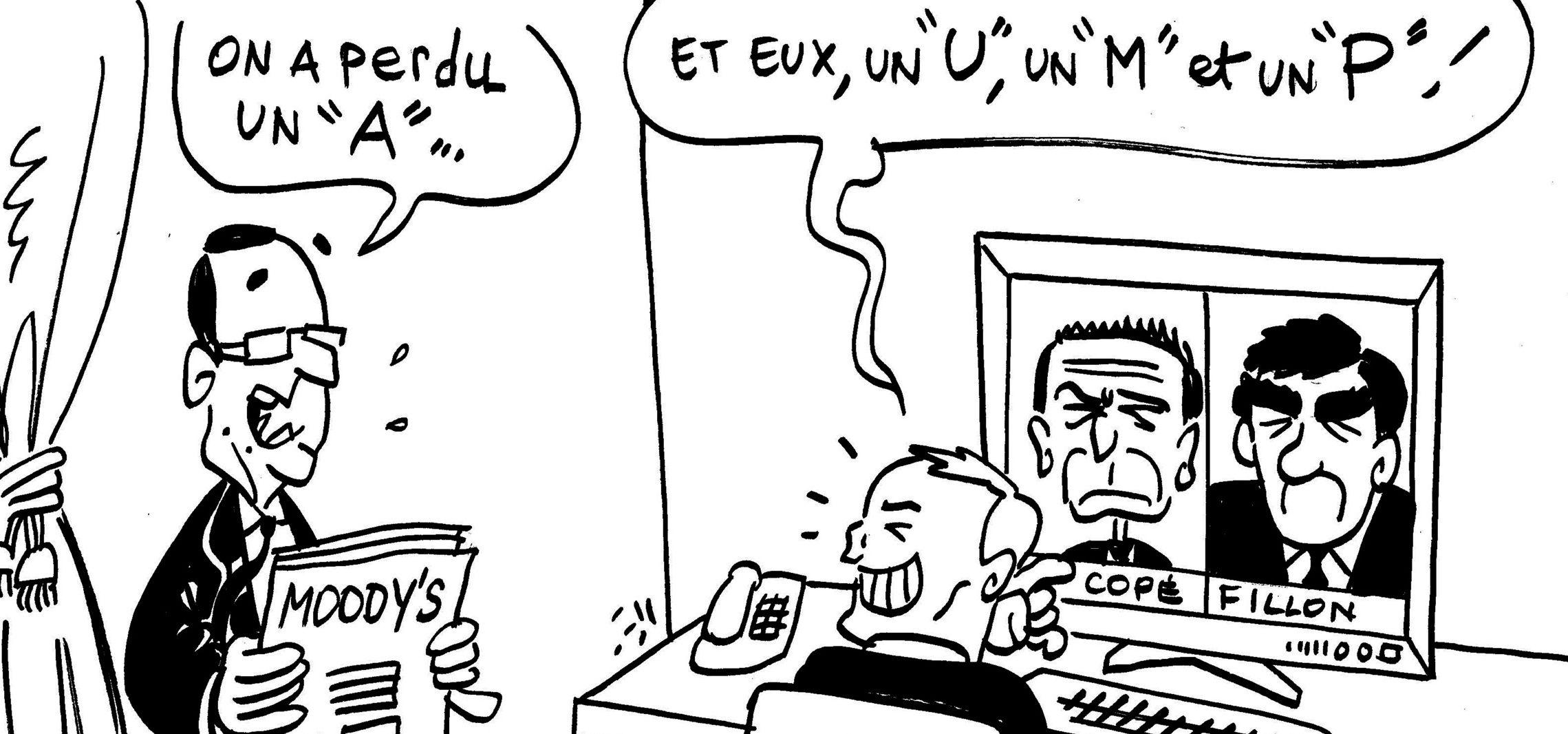 Les dessins de M'sieur L'Comte : Triple A et UMP