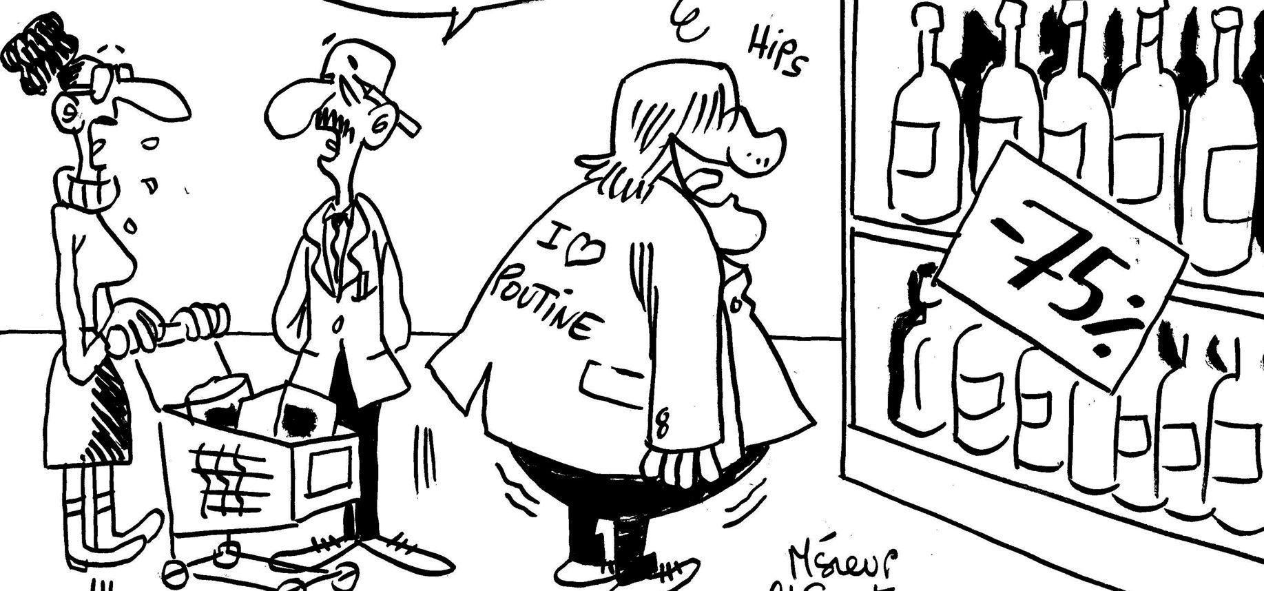 Les dessins de M'sieur l'Comte : Gérard Depardieu fait les soldes