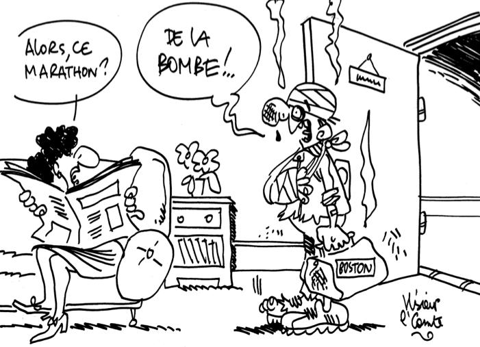 Les dessins de M'Sieur le Comte : un marathon explosif