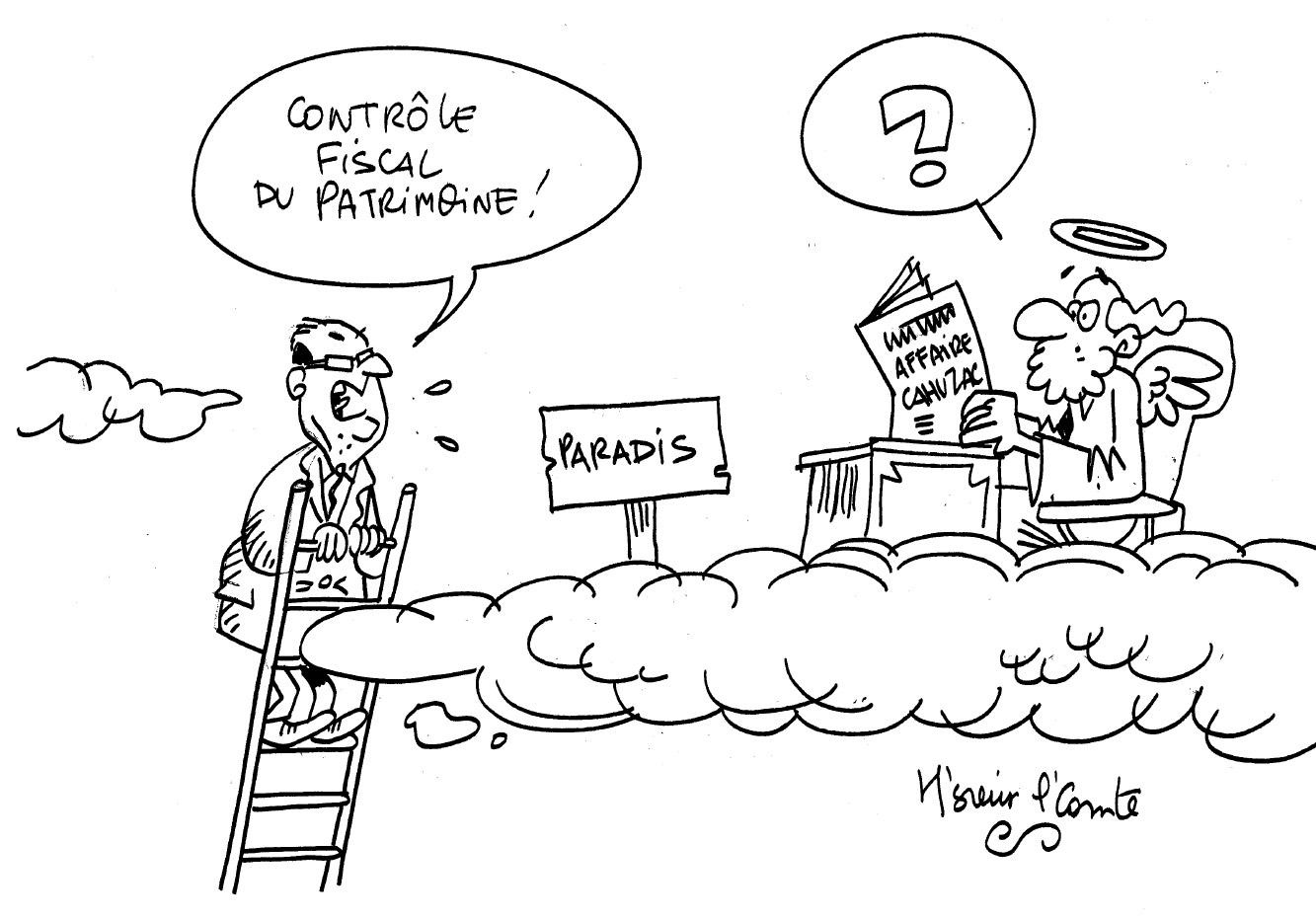 Les dessins de M'Sieur l'Comte : y'a plus de paradis fiscal