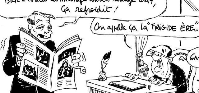 """Les dessins de M'sieur l'Comte : des manifs anti-mariage gay """"frigide ère"""" !"""