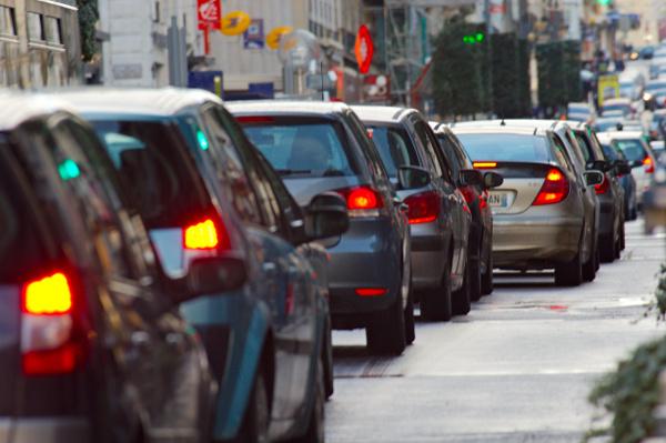 Les embouteillages sur la métropole lilloise ont aussi leur rentrée. Copyright CC Frederic Bisson/Flickr.
