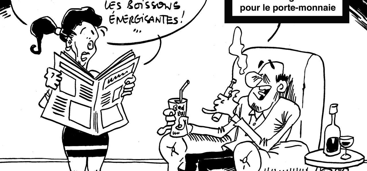 Les dessins de M'sieur l'Comte : haro sur le portefeuille