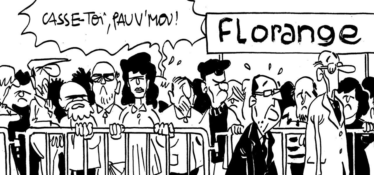 """Le regard de M'Sieur l'Comte : Hollande à Florange ou """"Casse-toi, pauv'mou !"""""""