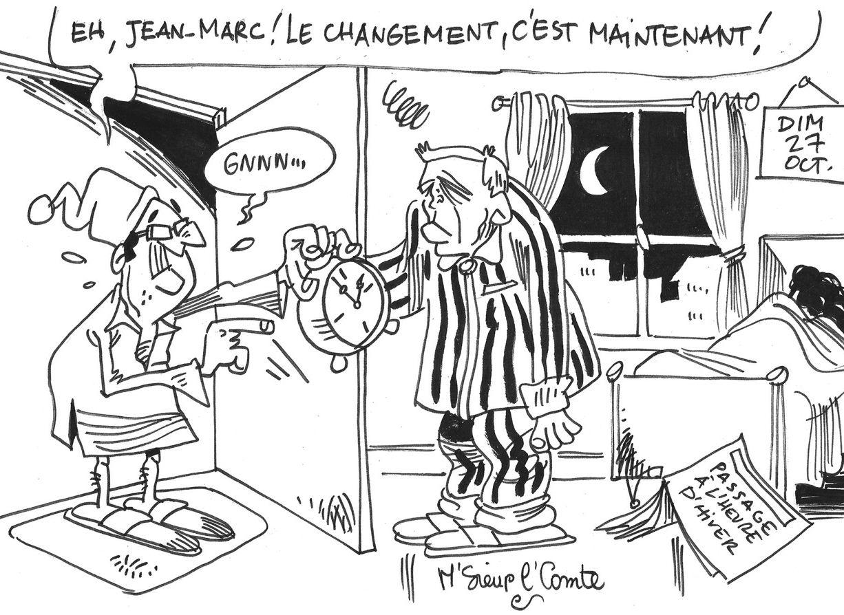 Le regard de Monsieur Le Comte : le changement, c'est ce week-end !