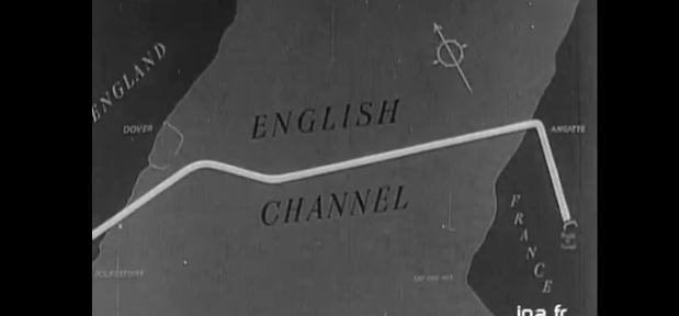"""Tunnel sous la Manche : le premier pilote de """"Tunnel"""""""