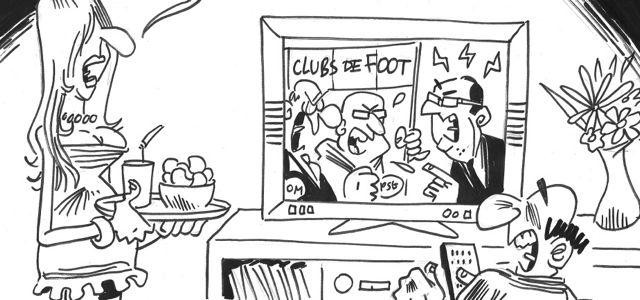 Le regard de M'Sieur l'Comte : un match de foot France-Hollande