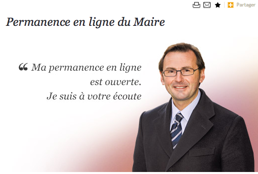 On a testé incognito la permanence en ligne du maire d'Arras
