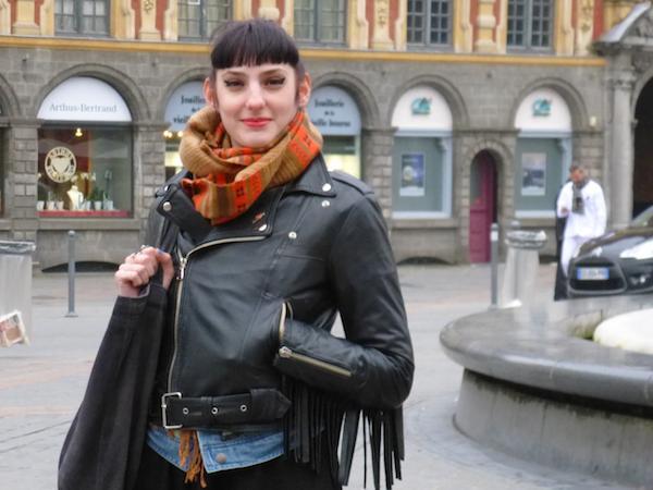 En lançant un blog sur le roller derby, Céline souhaitait avant tout combattre les idées reçues. Crédit photo Noémie Pouille.