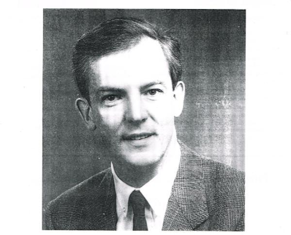 Jacques Vernier en jeune premier. Détail d'une affiche électorale de 1983.