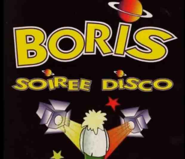 Boris soirée disco s'est rapidement classé au Top 50, devenant disque d'or dans de nombreux autres pays. Crédit Capture de l'album.