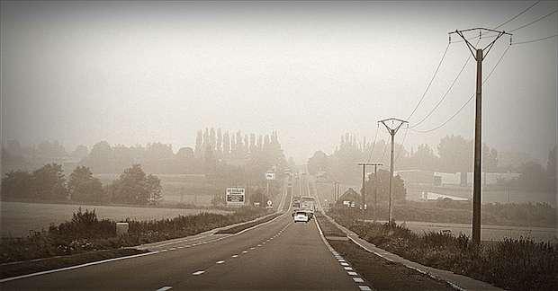 Route de Cambrai, aujourd'hui. A l'époque de la bataille de Vinchy, Cambrai était une ville particulièrement disputée. Crédit photo Mo sur FlickR