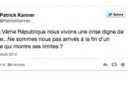 Les mauvais tweets du nouveau ministre Patrick Kanner