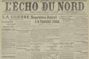Ça se passait en août 1914 dans le Nord – Pas-de-Calais