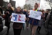 Diaporama sonore : au coeur du rassemblement #Jesuischarlie à Lille