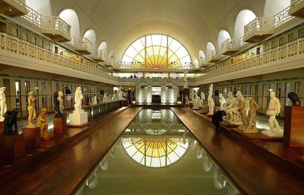 Roubaix's famous Piscine, recently classed on the best museum in France. Photo : Camster2 sur Commons Wikimedias.