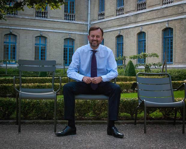 """François Decoster : """"aujourd'hui, Saint-Omer rentre dans la catégorie des petites villes"""""""