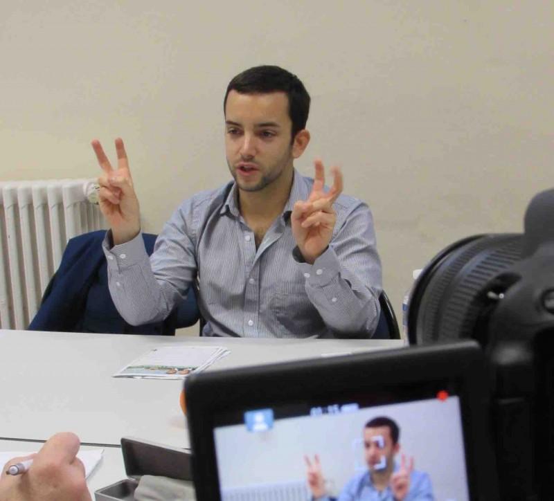 Jean-Philippe Tanguy estime qu'il peut passer la barre des 5% de vote lors des régionales. Crédit photo Dailynord