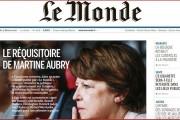 Martine Aubry, ministre de la parole (ou du vacarme)