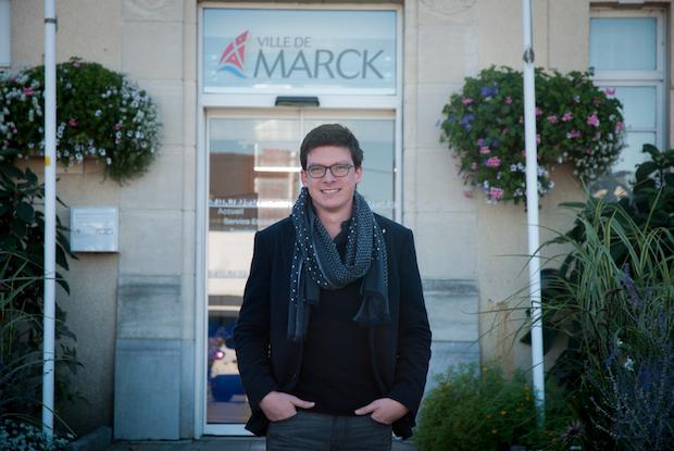 """Pierre-Henri Dumont (Marck-en-Calaisis) : """"Si je suis élu député, je resterai le maire de facto"""""""