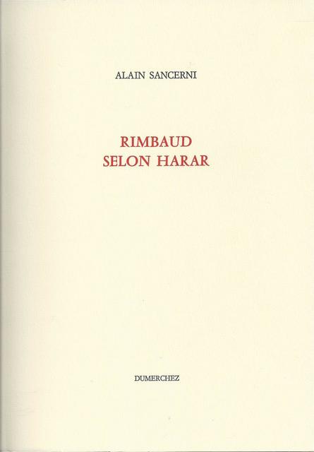 Couverture Rimbaud