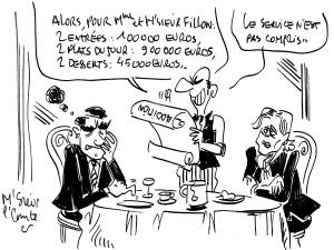 M'Sieur le Comte se paie encore François Fillon… et un peu Marine Le Pen