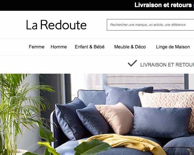 les galeries lafayette rach tent la redoute retour sur une revanche nordiste dailynord. Black Bedroom Furniture Sets. Home Design Ideas
