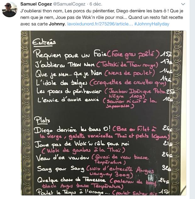 Marine Tondelier, Gérald Darmanin et le menu spécial Johnny sont dans le twittomètre cette semaine