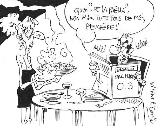 Dessin Paella om et paëlla | dailynord