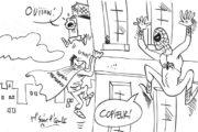 Concurrence entre Mamoudou Gassama et Spiderman pour M'sieur l'Comte