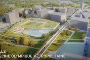 Lille :  la piscine olympique de la friche Saint-Sauveur se prend une volée de bois vert