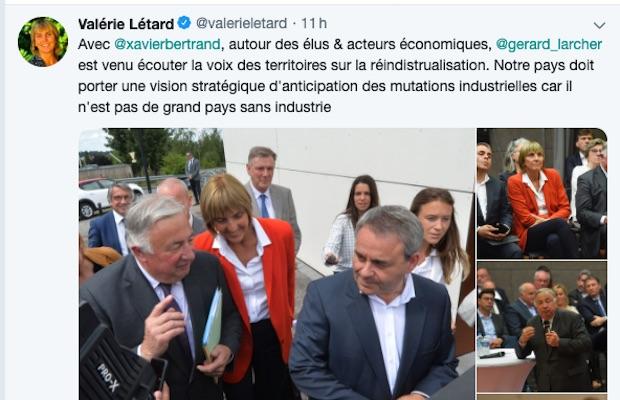 Valérie Létard, le joker anti-Darmanin de Xavier Bertrand