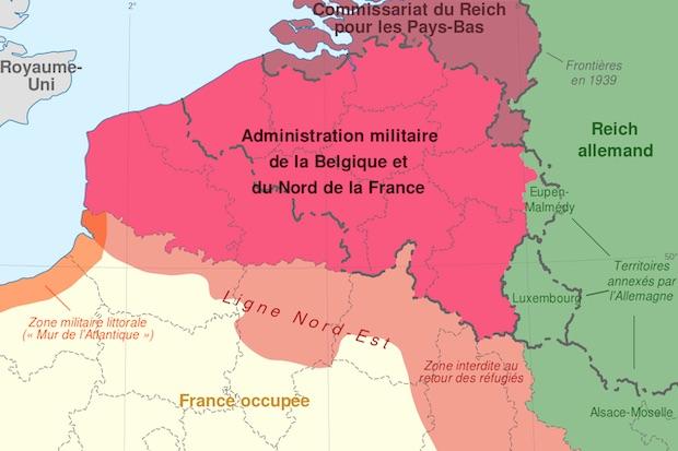 Le Nord – Pas-de-Calais dans la Seconde Guerre mondiale (6) : Pourquoi la région était sous le commandement de Bruxelles (et autres histoires territoriales)