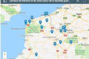 Le Nord – Pas-de-Calais dans la Seconde Guerre mondiale (3) : la carte des lieux de mémoire à voir et à visiter
