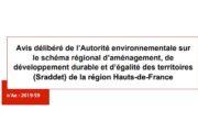 L'Autorité environnementale épingle le plan de Xavier Bertrand