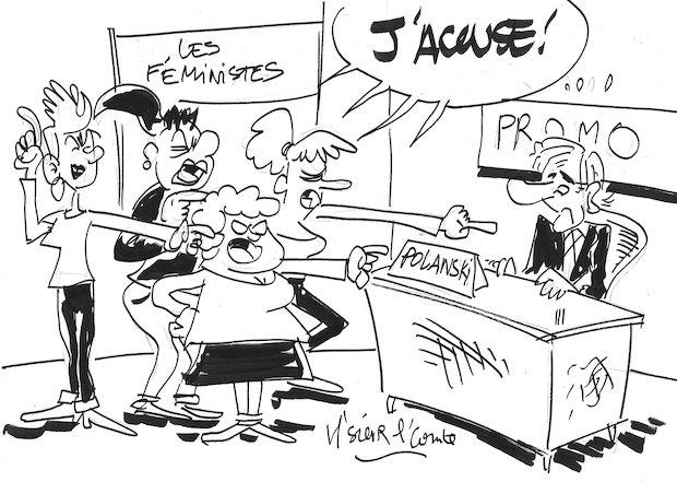 """M'sieur l'Comte et la polémique """"J'accuse"""""""